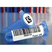 Tube barcode adhesive label | medical barcode adhesive label