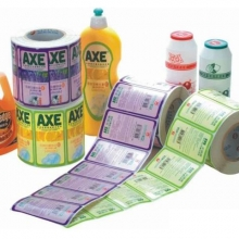 daily chemical adhesive label - cleaning products adhesive label - cleaning adhe