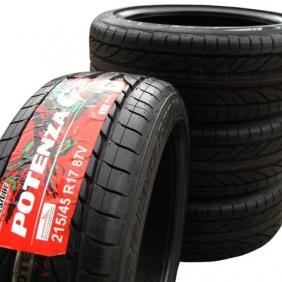 Tire adhesive label