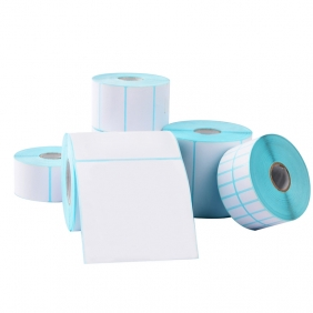 three anti thermal paper adhesive label